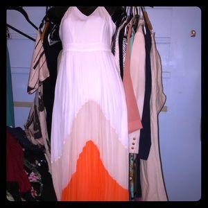 Nwot Bebe maxi dress